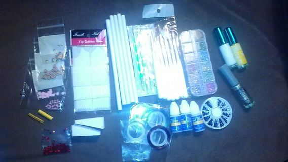 MEGA Nail Art Lot!! Take Your Manicure Glam To The Next Level!!