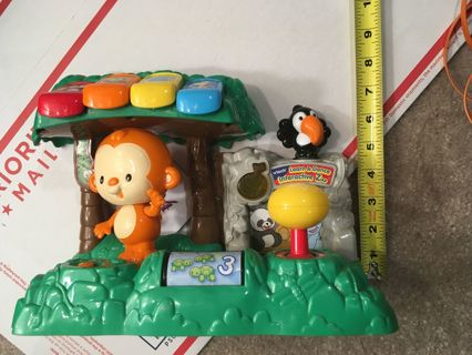 Learn To Dance Interactive Zoo Toy~Songs,Lights~ Age 3-36 Months~ V-Tech