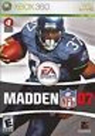 Madden NFL 07 (Microsoft Xbox 360, 2006)
