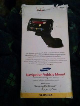 Samsung navigation vehicle mount