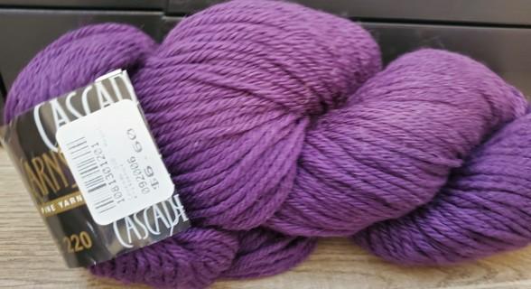 """NEW - Cascade Yarn - """"Grape"""""""