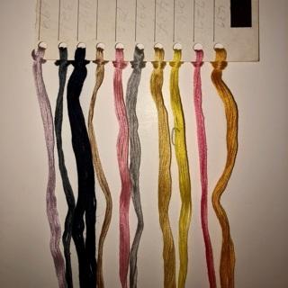 Vintage Cross Stitch Thread Floss