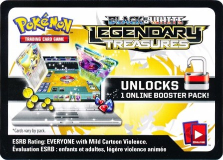 Pokemon TCGO LEGENDARY TREASURES Booster Code! Lowest GIN w/Bonus!