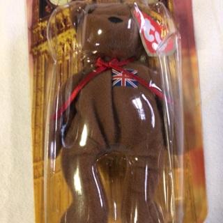 "McDonald ""Britannia The Bear"" Children's collectible Stuffed Bear."