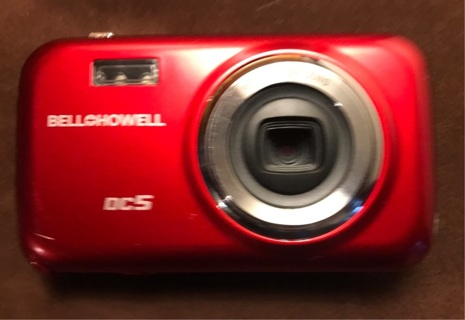 Bell + Howell DC5 red Digital Camera