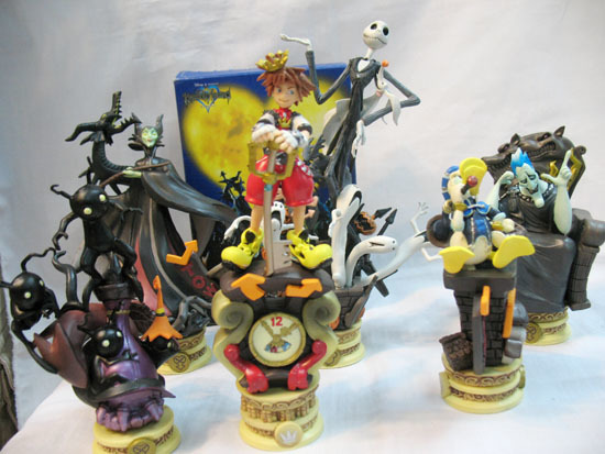 Free Kingdom Hearts Toy Lot Pvc Figures 3 Jack