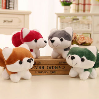 1Pc Cute simulation dog plush toys stuffed doll kids baby toys plush husky dolls
