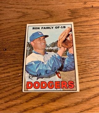 1967 Topps Ron Fairly
