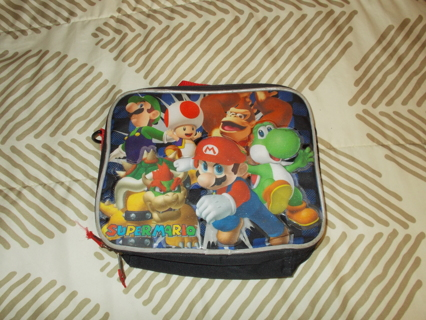 Kids Super Mario Soft Lunch Box Used