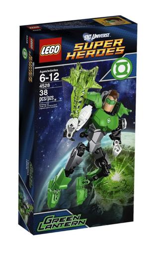 Free Mib Lego Retired Green Lantern 4528 Buildable Figure