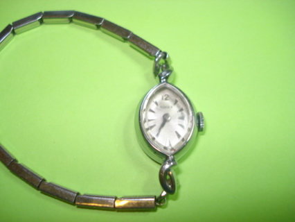 Free 1950 39 s rare vintage timex 17 jewels silver ladies for Antique jewelry worth money