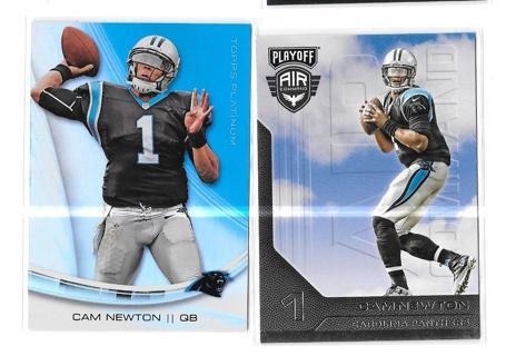 2 (FREE) Cam Newton #1. ~ Cards