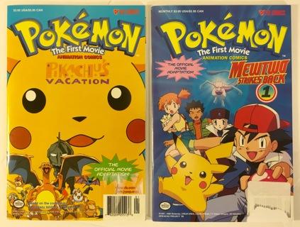 Free Pokemon The First Movie Animation Comics Pikachu S
