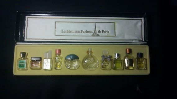 free les meilleurs parfums de boxed set of vintage fragrances made in france. Black Bedroom Furniture Sets. Home Design Ideas