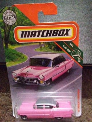 Matchbox Metal 55 Cadillc Fleetwood collectible car.
