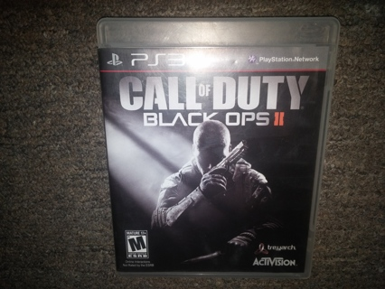 Playstation 3 Call of Duty Black Ops II
