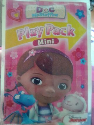 Doc McStuffins play pack brand new in package free shipping