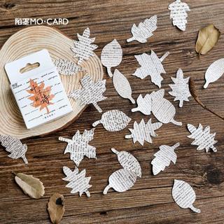 45 Pcs/box Envelope Seal Paper Gift Label Mini Small Diary Plant Sticker Scrapbooking Flakes Stati