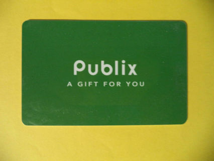 $10 PUBLIX GROCERY GIFT CARD