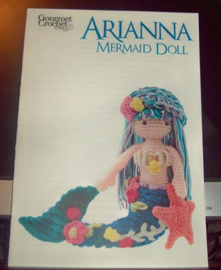 Free Gourmet Crochet Pattern Arianna Mermaid Doll Crochet