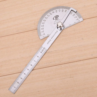 Creative Steel Protractor Angle Finder Rule Measure Tool for Machinist Designer