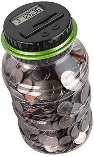 Digital Coin Counter Piggy Bank