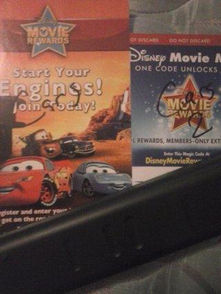 free 2 disney movie rewards codes from cars cars 2 rewards