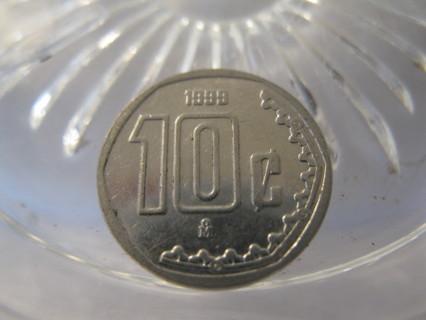 (FC-654) 1999 Mexico: 10 Centavos