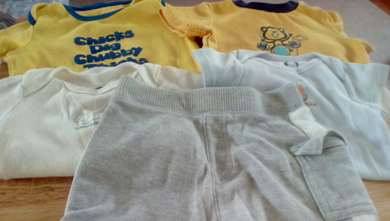 Infant Size (6-9) Months Clothing: GUC
