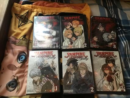 *~vampire knight DVD's~*