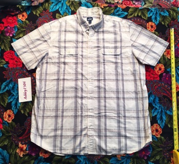 MEN'S OLD NAVY SHIRT CASUAL BUTTON DOWN TSHIRT Old Navy free shipping