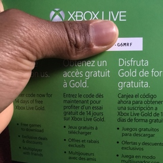 Xbox Live 14 Day Trail Codes