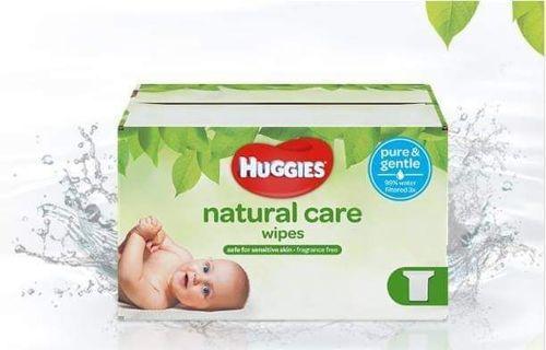 ✔ - 528 HUGGIES WIPES, NATURAL CARE ✔