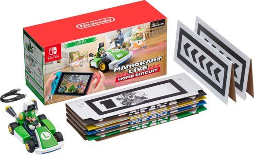 Mario Kart Live: Home Circuit - Luigi Set Luigi Edition - Nintendo Switch, Nintendo Switch Lite