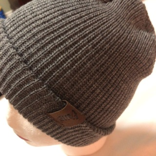 Beautiful Knitted Grey Hat.