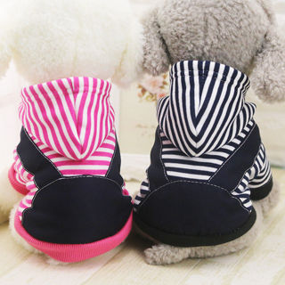 Dog Puppy Small Breed Sweater Hoodie Jumper Clothes Jacket Casual Winter Apparel