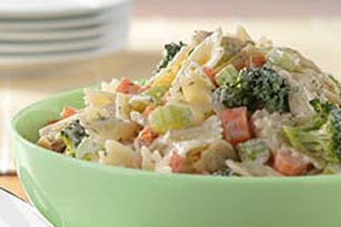 My Tuna Pasta Salad Recipe - mailed thru usps