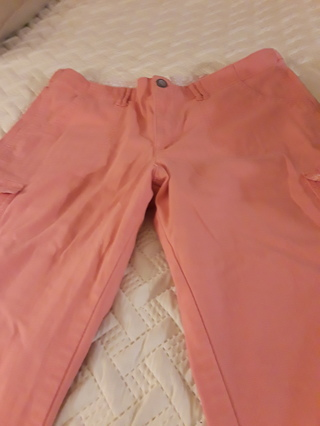 COMFORT WAIST CAPRIS SIZE 18 MEDIUM 98% COTTON 2% SPANDEX