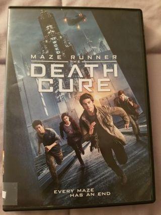Maze Runner: The Death Cure Dvd
