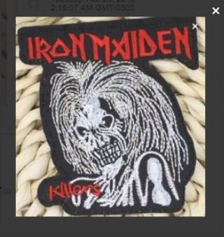 1 IRON MAIDEN Band Patch IRON ON Patch Music Band Fan Clothing Embroidery Applique #USA-SELLER