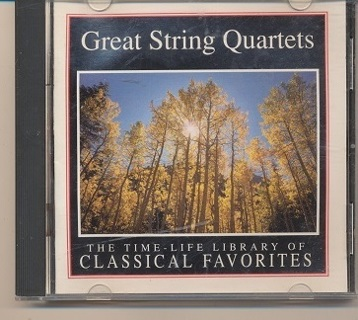 """""""Great String Quartets"""", Vol 1, Disc B, See Photo 2 for additional Information - CD-003"""