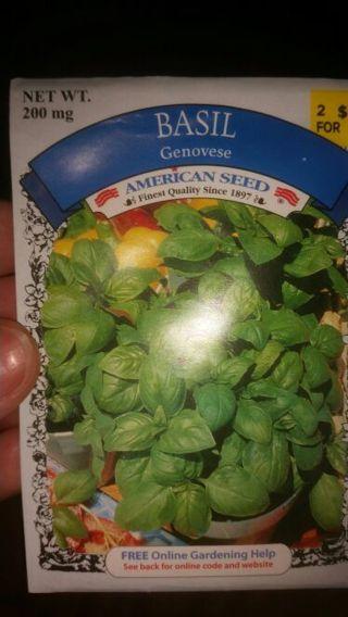 Genovese basil, 200 mg