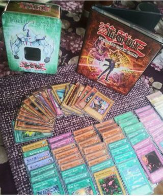 Yugioh Binder Collection 215 Trading cards on all! W/ elemental hero TIN JAPAN Yu-Gi-Oh