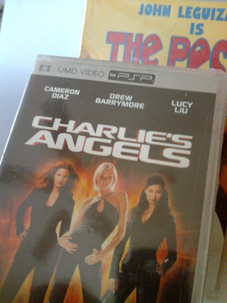 NEW! UMD Video for PSP Movie Charlie's Angels + $10 Gift Card