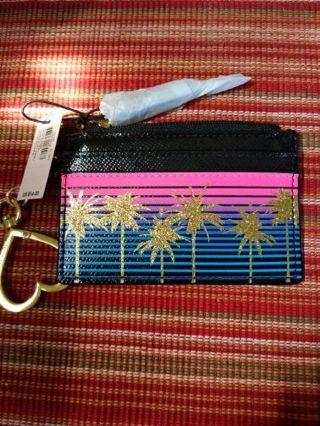 Victoria's Secret palm tree dream card case