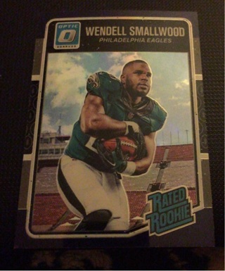 Wendell Smallwood optic rookie purple