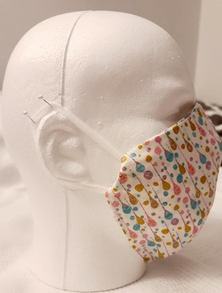 FACE MASK IN DROPS PRINT OLDER TEEN/ADULT***LQQK***