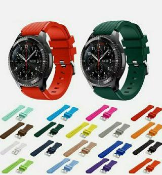 22MM Silicone Sport Band for Samsung Galaxy Watch 46mm Gear S3 Strap Bracelet WB