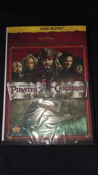 ⭐Disney's Pirates of the Caribbean At World's End 2 Disc Blu-Ray Brand New FREE SHIPPING & TRACKING⭐