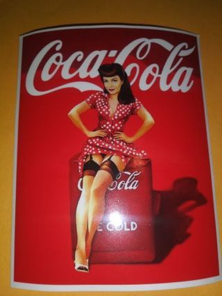Coca-Cola 3×3 thin sticker no refunds regular mail only Very nice not relisting